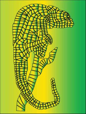 couleurs cam�l�on - vecteur Illustration