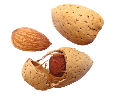 almond is dry food and good source of nutrition photo