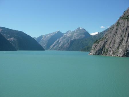 placid water: Placid water of Glacier Bay, Alaska