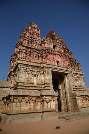 Vijay Vittal Temple complex, Hampi, Karnataka, India.