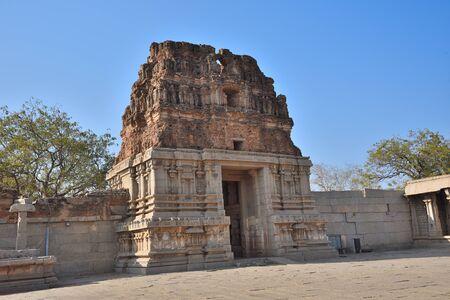 Chariot and Vittala temple at Hampi, India