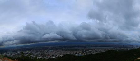 dark: The dark clouds Stock Photo