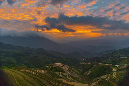 yuan yang: terrace scenic