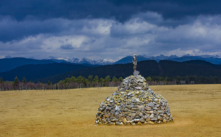cairns: Mongolian cairns