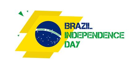 9月7日 - ブラジル独立記念日バナーベクトルイラスト