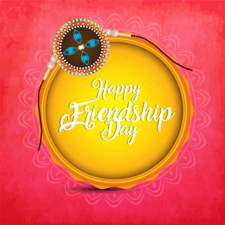 creative vector abstract for Happy Raksha Bandhan with nice and beautiful design illustration in a background. 写真素材 - 151140452