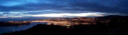 Dunedin at night photo