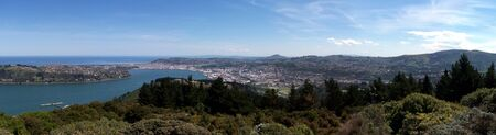 Dunedin view from Signal Hill Stock Photo - 2733308