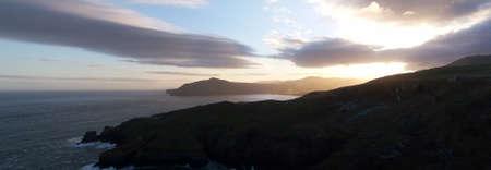 Sunset on Otago Peninsula photo