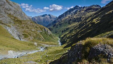 aspiring: Route Burn Valley North Branch, Mount Aspiring National Park, West Coast, New Zealand