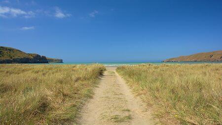 canterbury: Okains Bay, Banks Peninsula, Canterbury, New Zealand