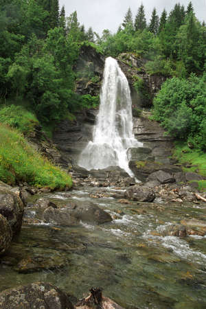 Falls in Southern Norway Stock Photo - 437052
