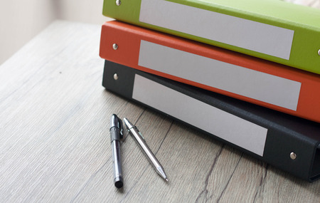 binders: Colorful document binders