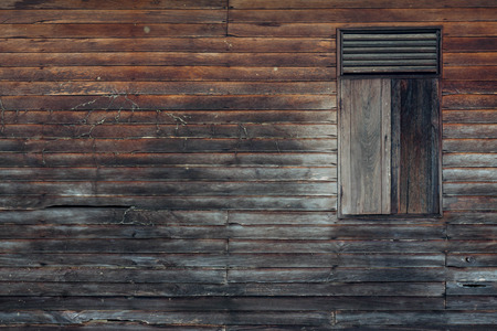 asian style: Old wood house wall for Asian style