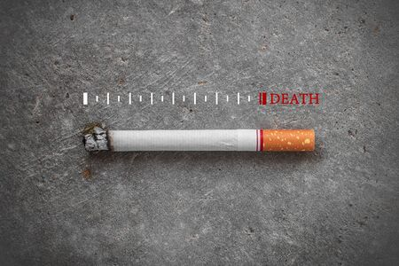 Stop Smoking , World No Tobacco Day Concept , The space for adding text .