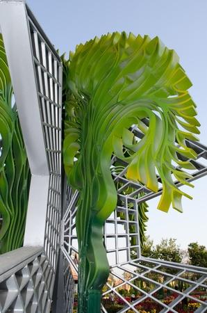 ChiangMai province Thailand Modern Sculpture. ChiangMai province Thailand Modern Sculpture Show in ChiangMai public Garden in ChiangMai Thailand.