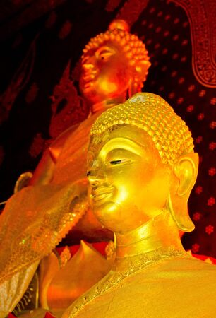 The Golden Buddha Statue in ChiangMai,TH.(Wat Jedyod) Stock Photo - 12184138