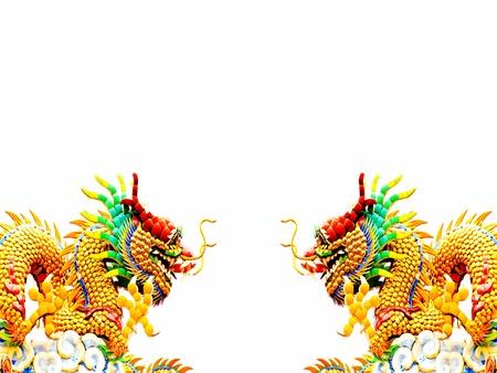 Golden dragon Stock Photo - 12499035