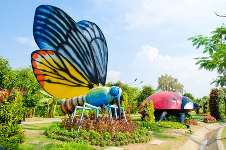 Big insect or butterfly  Model