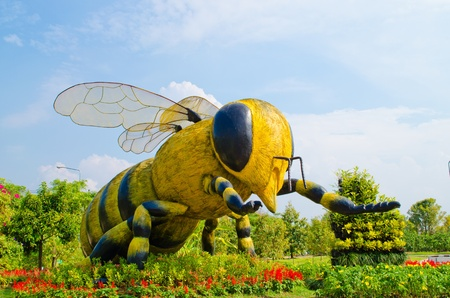 Big insect  Bee Model  Stock Photo - 12768917