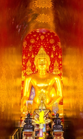 The Golden Buddha Statue in ChiangMai,TH