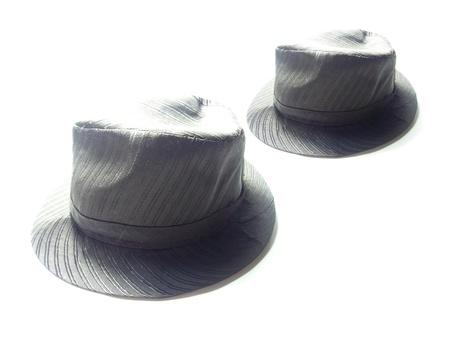 Black hat on White