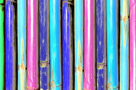 temper:  Colorful of Bamboo  , texture