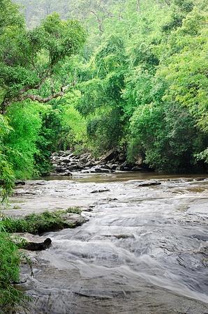 Mea Ya Waterfall, Doi inthanon , Chiangmai,Thailand. Greater waterfall of Thailand.