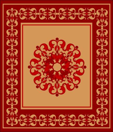 tapijt  Vector Illustratie
