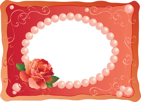frame for picture or photo Vector