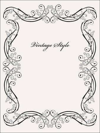 filigree: klassieke vignet