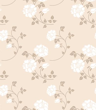 Floral senza saldatura  Vettoriali