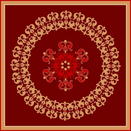 decorative rosette Stock Vector - 5921606