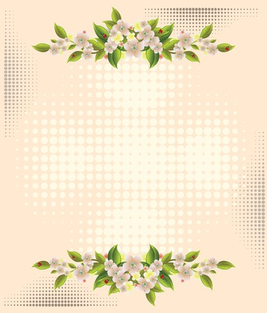 floral background Stock Vector - 6173051