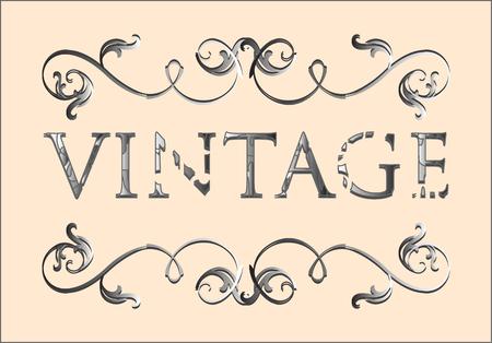 vintage floral frame Stock Vector - 6171930