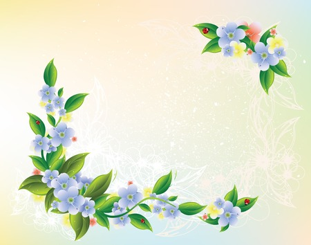 floral background Stock Vector - 6475894