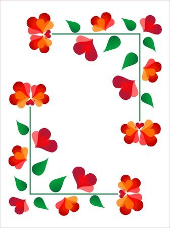 floral designe Vector