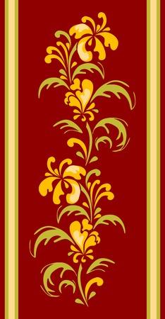 designe: floral designe for carpet
