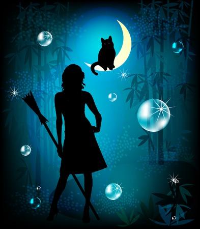 lupo mannaro: illustrazione di fantasia