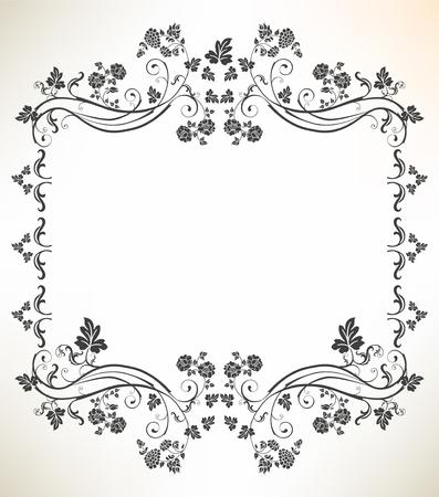 rosa: vintage frame