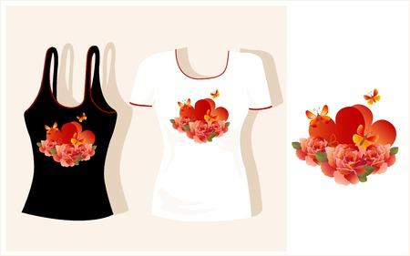 t-shirt design Stock Vector - 7103989