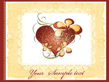 vintage album cover design Stock Vector - 7111358