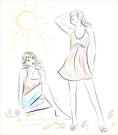 supermodel: summertime