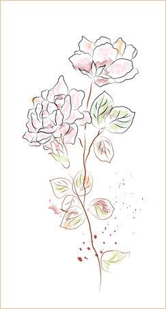 flor: rose
