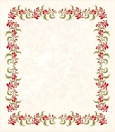 floral frame Stock Vector - 8152403