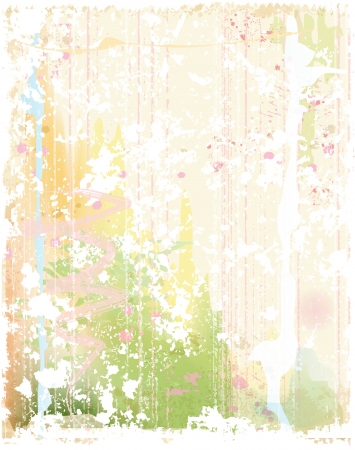 grunge background in watercolor style Vector