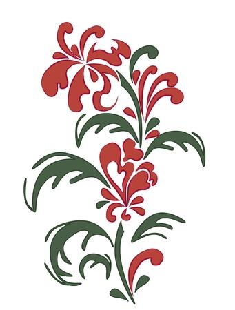 Fiore rosso Archivio Fotografico - 20182620