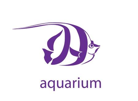fishy: symbol of the tropical fish Illustration