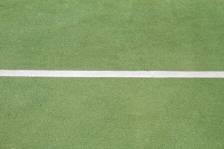 no boundaries: Close up of tennis court line