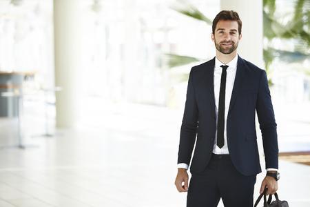 Sharp dressed businessman